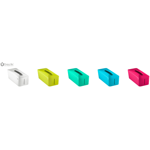 Unique Art|Tissue. Know自動彈升面紙盒  (巴黎紅)