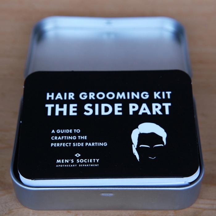 MEN'S SOCIETY|復古紳士側分髮造型組