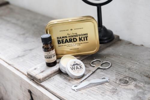 MEN'S SOCIETY|紳士必修鬍子修護組