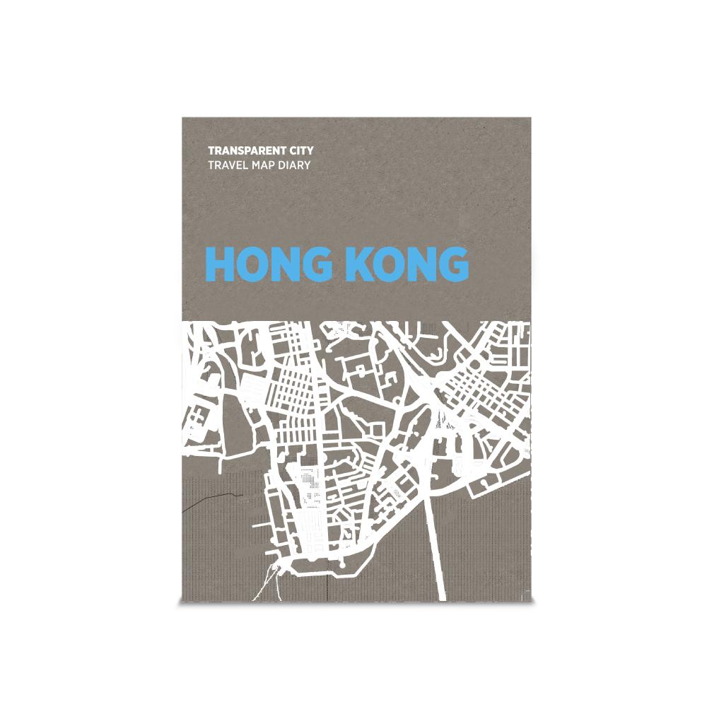 palomar 描一描城市透明地圖 香港