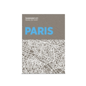 palomar 描一描城市透明地圖 巴黎