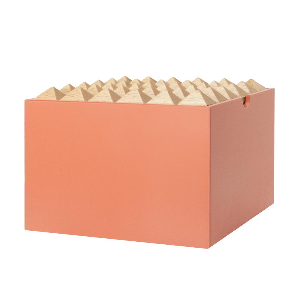 Korridor Design | 家飾木盒XL-珊瑚橘