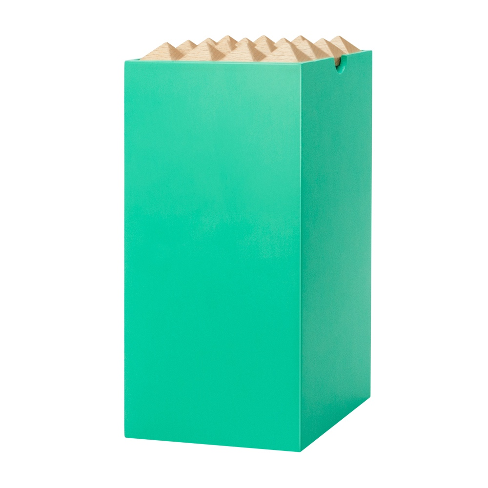 Korridor Design   家飾木盒L-湖水綠