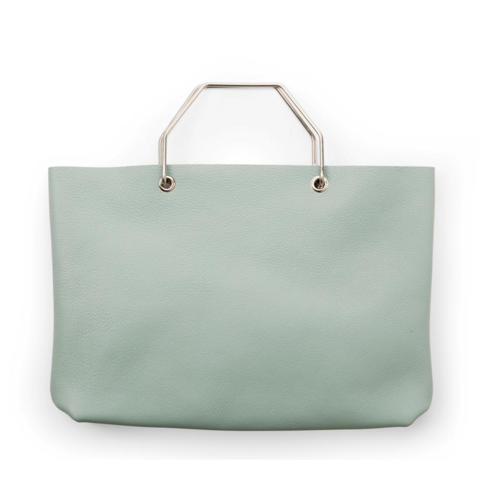 Keecie|購物者手提袋-湖水綠