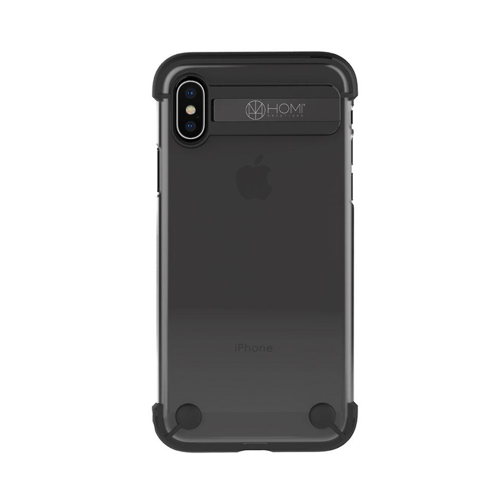 HOMI|The Hybird Armour 極輕薄防摔金屬支架保護殼for iPhone X