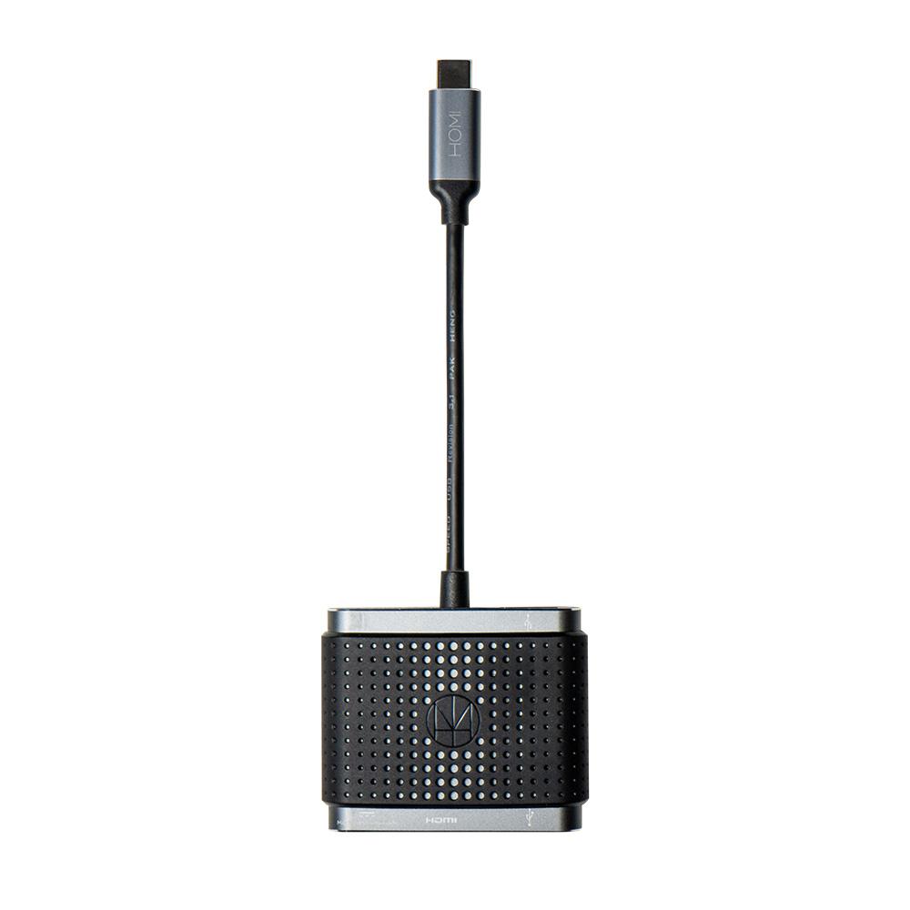 HOMI|4in1 with HDMI+USB3.1+TypeC Hub-C 快速充電傳輸集線器