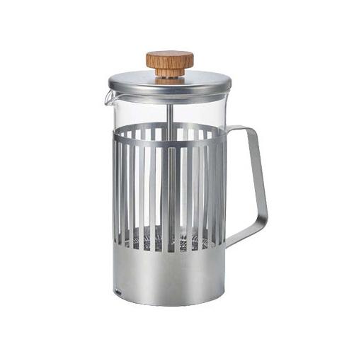 HARIO|光影之間濾壓茶壺4杯 THT-4MSV 600ml