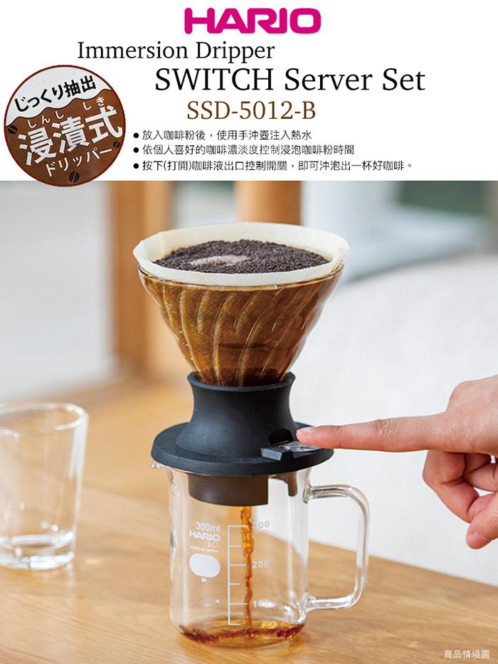 (複製)HARIO|V60免濾紙咖啡沖煮杯 OCM-1-B