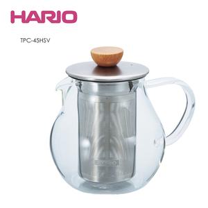 HARIO|Tea Pitcher 極簡花茶壺450ml TPC-45HSV