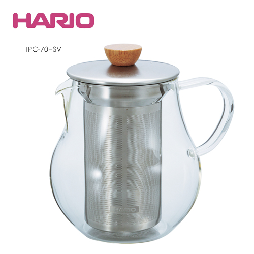 HARIO|Tea Pitcher 極簡花茶壺700ml TPC-70HSV
