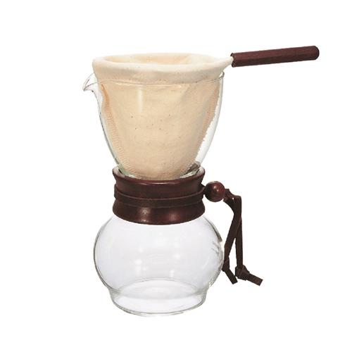 HARIO|濾布手沖咖啡壺組 DPW-1 1~2杯