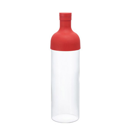 HARIO|酒瓶紅色冷泡茶壺 FIB-75-R 750ml