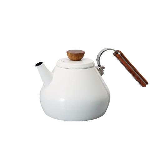 HARIO|Bona琺瑯茶壺 800ml BTK-80-W