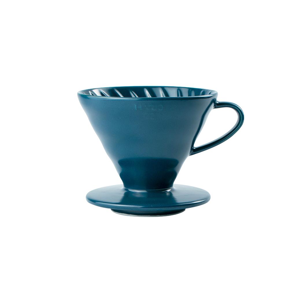 HARIO|V60吳須色02彩虹磁石濾杯(1~4杯份)