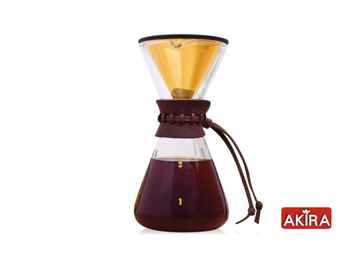(複製)AKIRA|不鏽鋼濾網手沖咖啡組 DPG-1S-TI