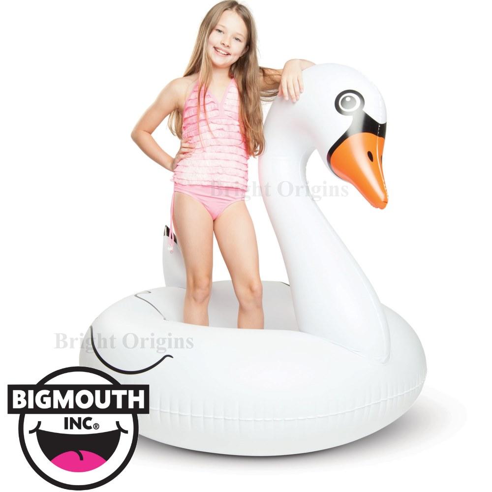 美國 Big Mouth 造型游泳圈 白天鵝款
