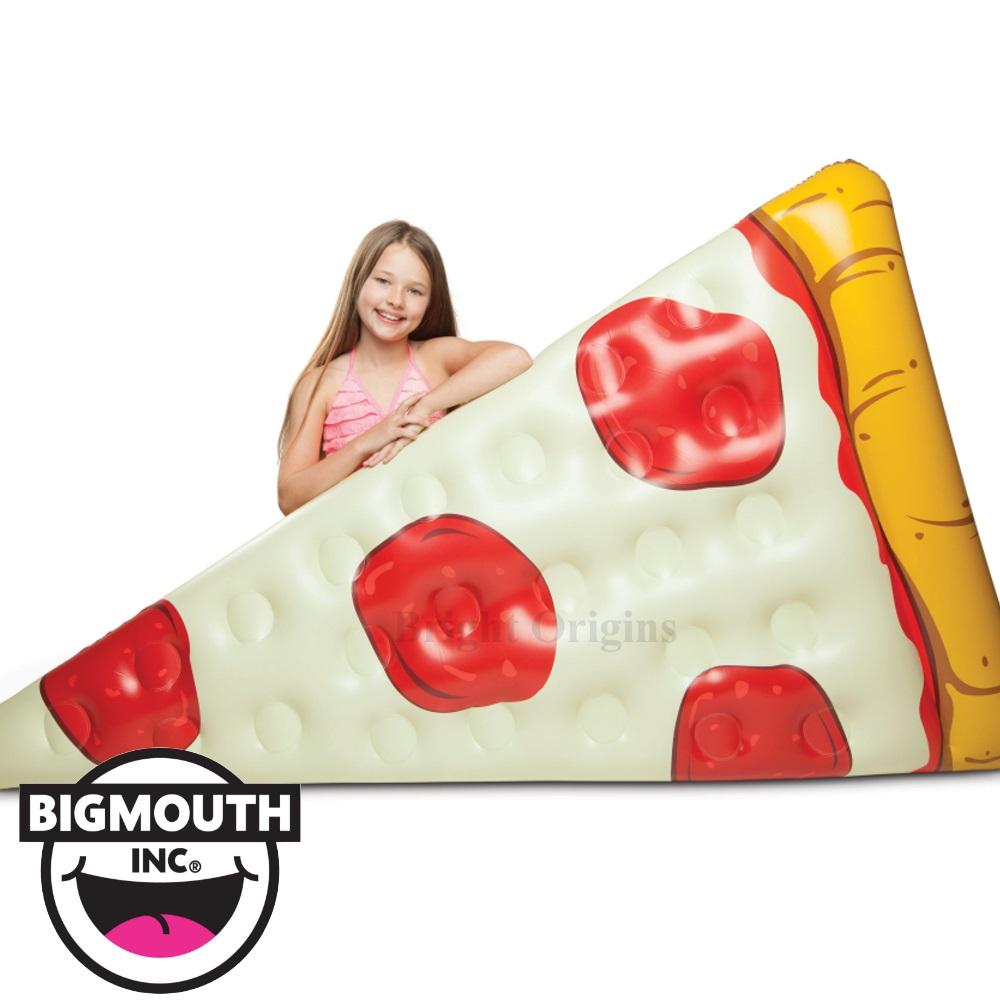 美國 Big Mouth 造型充氣浮板 披薩款