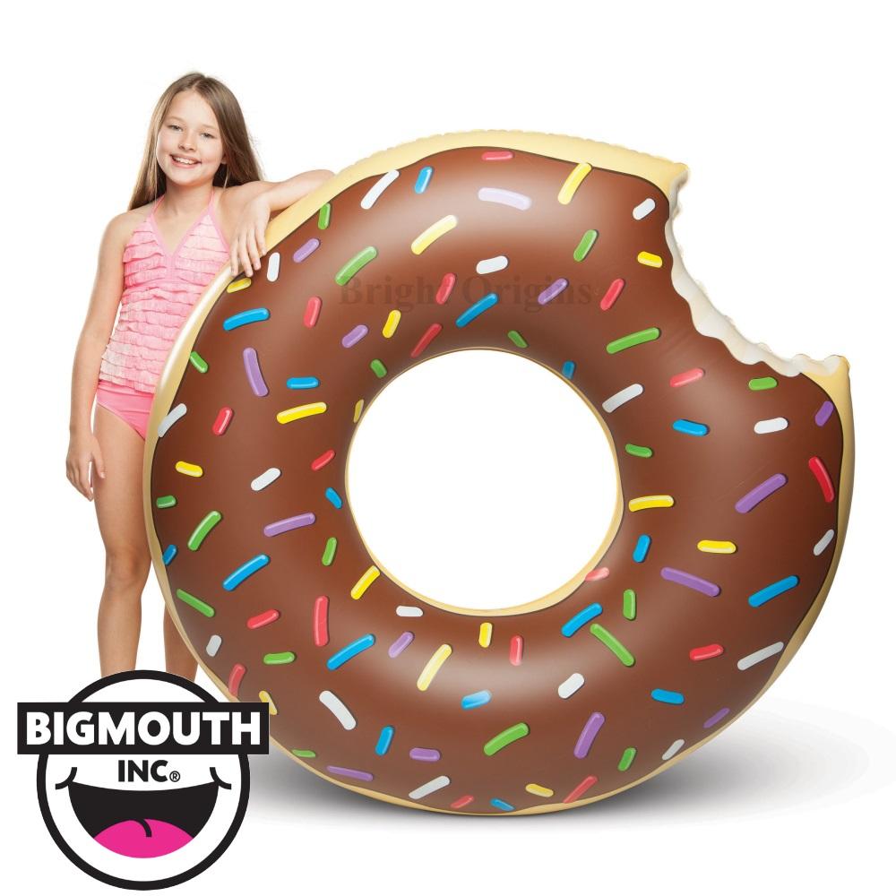 美國 Big Mouth 造型游泳圈 巧克力甜甜圈款