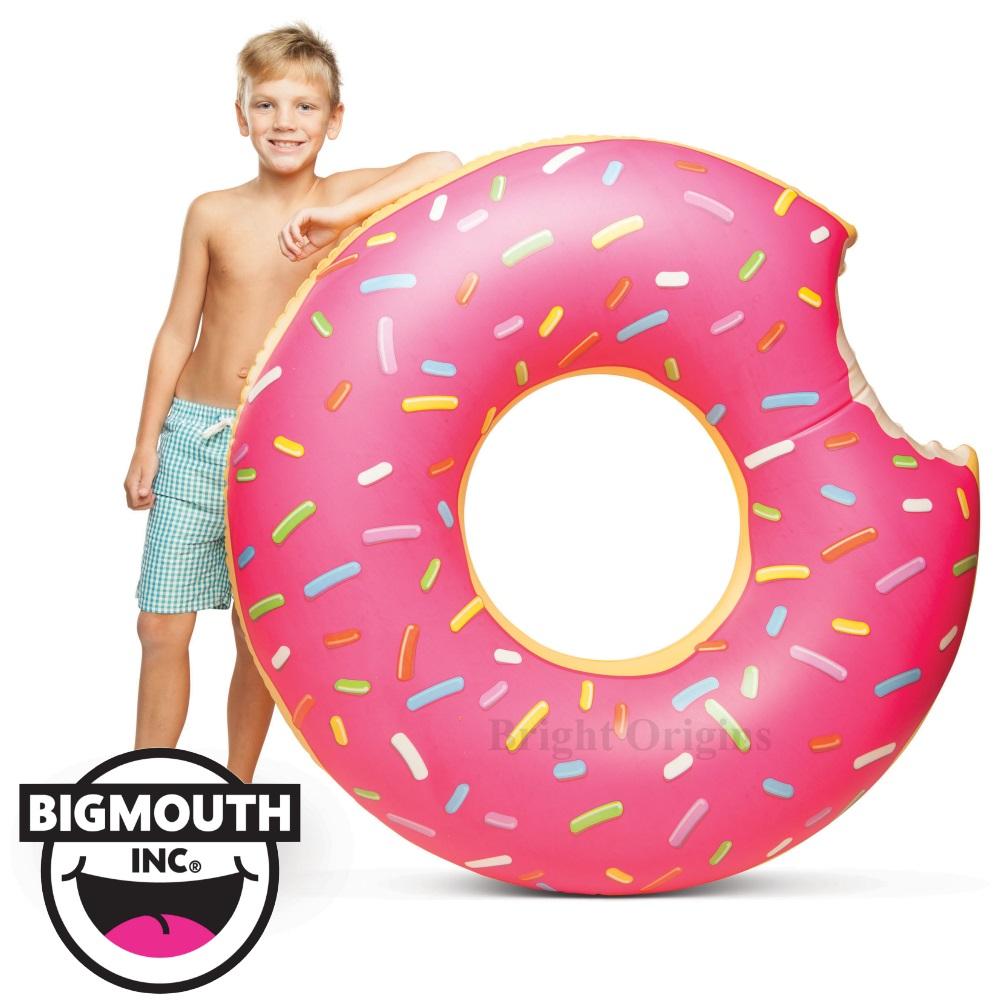 美國 Big Mouth 造型游泳圈 草莓甜甜圈款