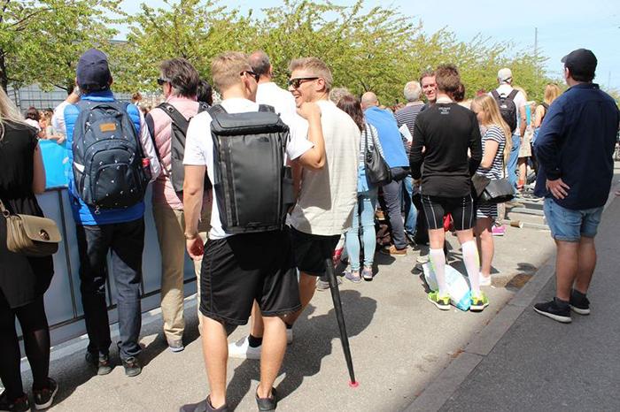 Sitpack|攜帶式座椅 可折疊 - 黑色