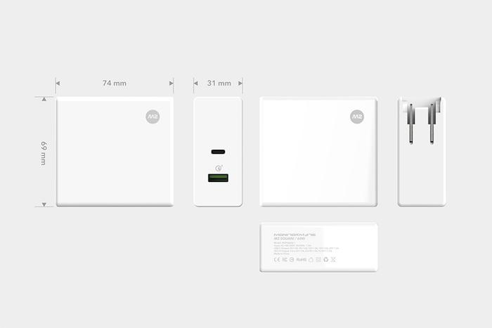 (複製)MONITORMATE|M2 Cube MacBook Pro USB-C充電轉接器