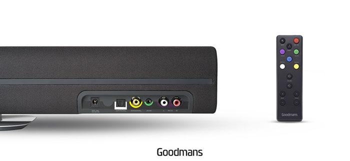 Goodmans | ASPECT SoundBar 無線藍牙家庭劇院聲棒
