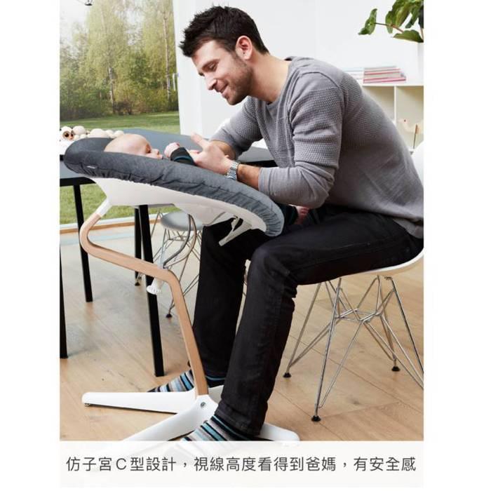 Nomi|丹麥多階段兒童成長學習調節椅(超值組)- 灰色
