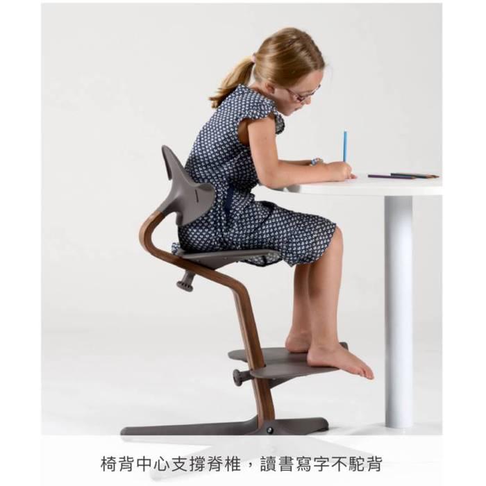 Nomi|丹麥多階段兒童成長學習調節椅(超值組)- 綠色