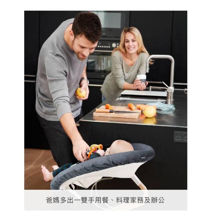 Nomi 丹麥多階段兒童成長學習調節椅豪華組(含躺椅)-白色