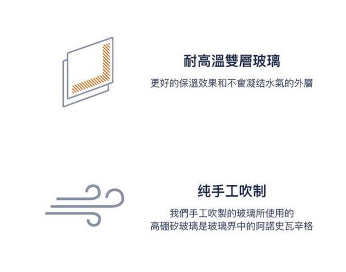 (複製)FELLOW|[X]Dripper Set 不鏽鋼雙層真空濾杯組(1-2人份)