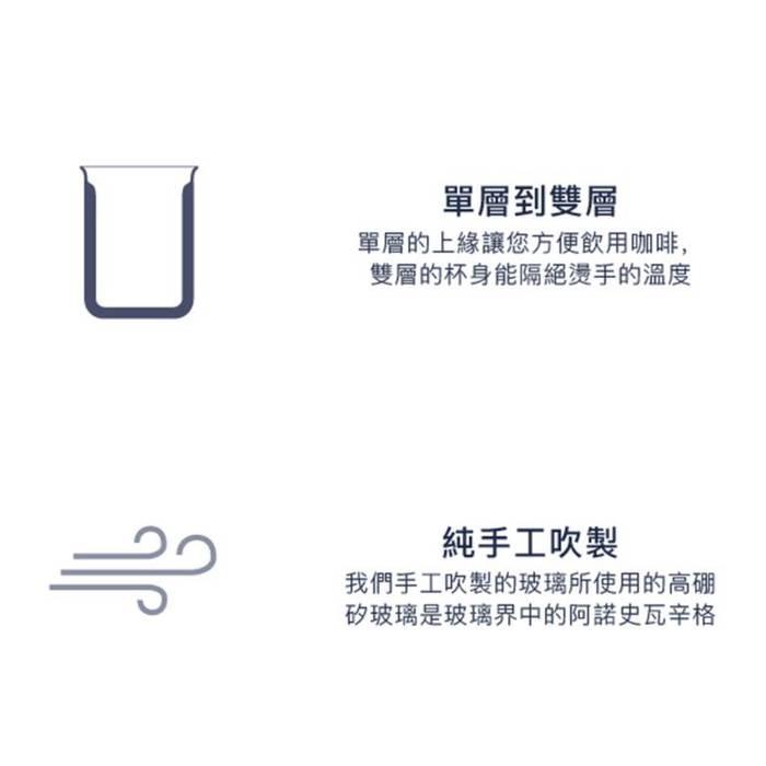 (複製)FELLOW|Stagg Double Wall Carafe 雙層玻璃咖啡濾壺-含矽膠蓋