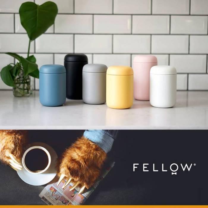 FELLOW | Carter 卡特咖啡真空保溫瓶-磨砂黑 / 霧面白 / 清水灰