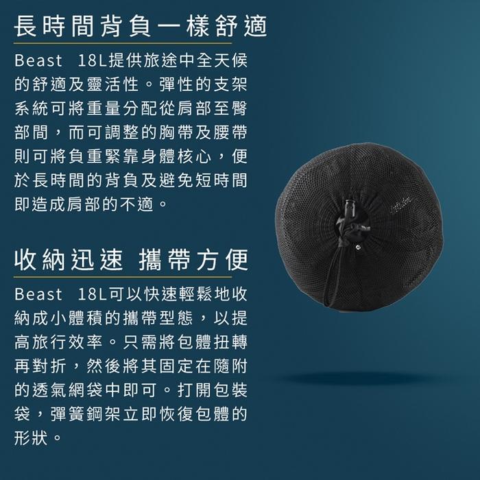 (複製)Matador 鬥牛士 Beast 28L 進階級防水背包 - 灰色