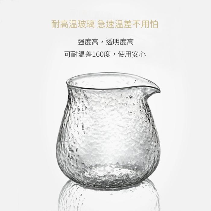TIMEMORE|泰摩錘目紋玻璃咖啡杯兩入組-品茶品酒杯