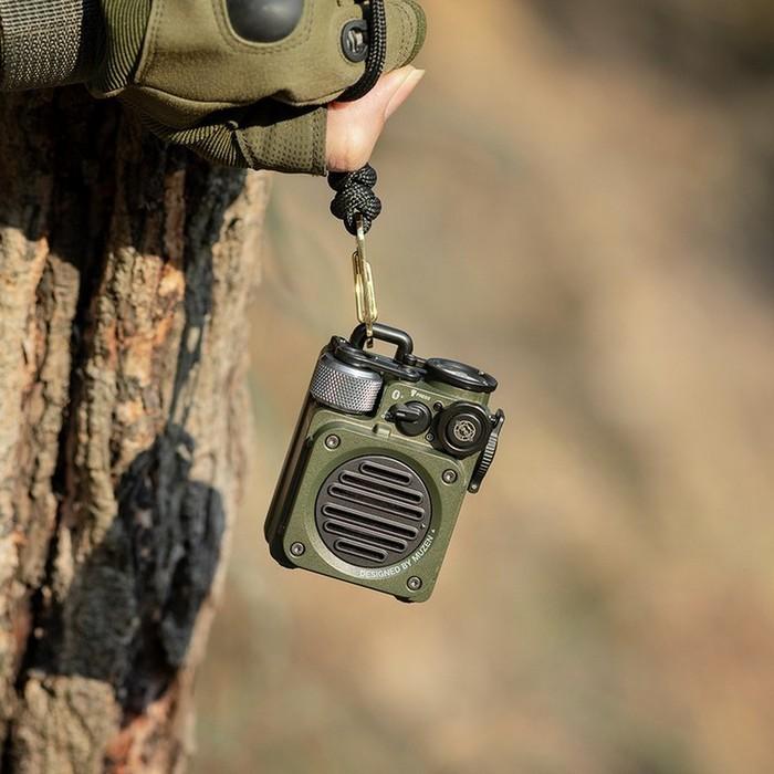 MUZEN|WILD mini 野性mini 全天候IPX5藍牙抗水喇叭-雨林綠