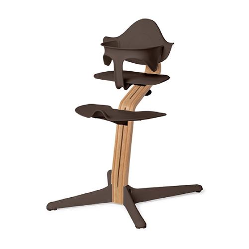 Nomi 丹麥多階段兒童成長學習調節椅超值組-咖啡