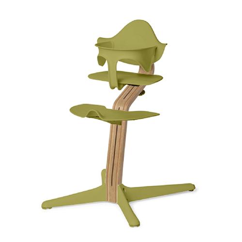 Nomi|丹麥多階段兒童成長學習調節椅超值組-綠色