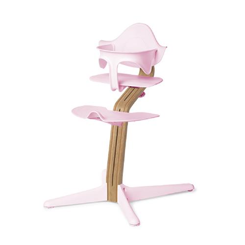 Nomi|丹麥多階段兒童成長學習調節椅超值組-粉