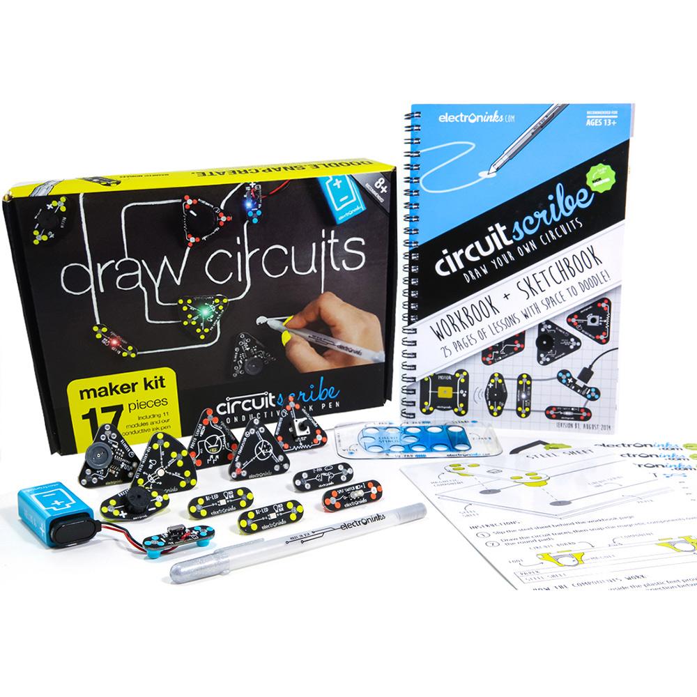 Circuit Scribe|手繪電路筆創客套件 - 創客版