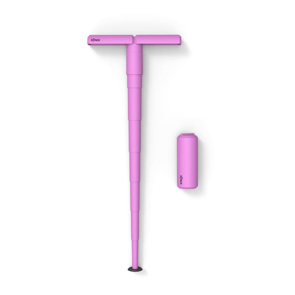 Sitpack|攜帶式座椅 可折疊 - 粉色