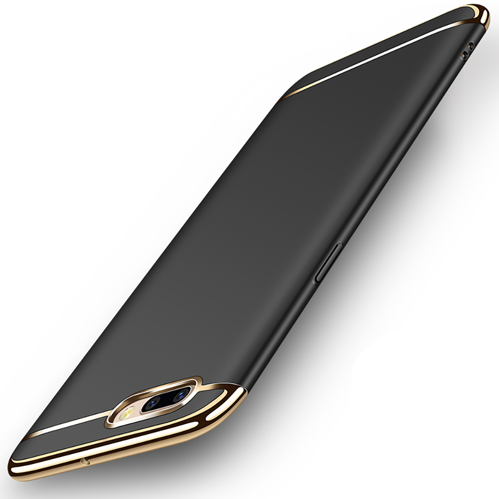 MOGUU|OPPO R11 5.5吋三段式拼接手機殼 - 黑色