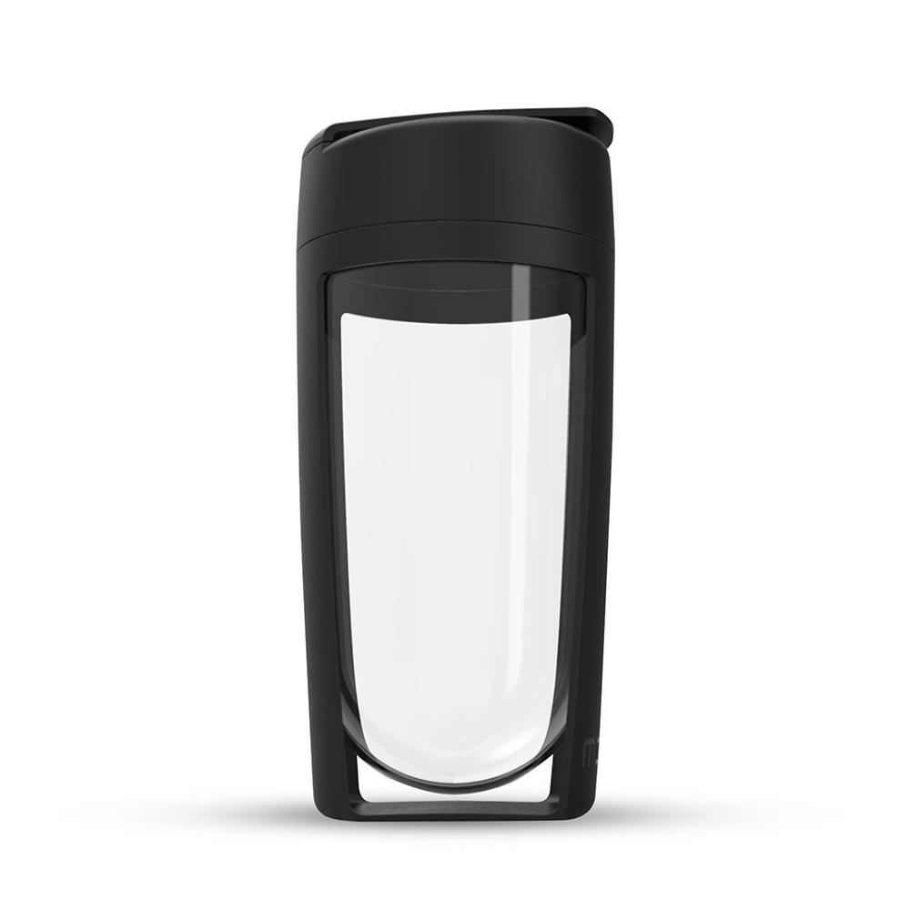MOUS|澳洲 Fitness 運動健身搖搖杯-黑色 免鋼球大口徑蛋白粉健身奶昔乳清專用Ttita材質