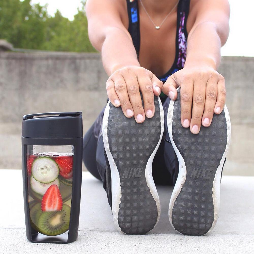 澳洲 MOUS Fitness 運動健身搖搖杯-黑色