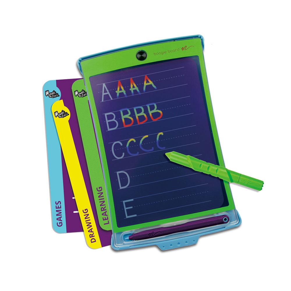 Boogie Board|Magic Sketch 8.5吋 彩色透明手寫塗鴉板