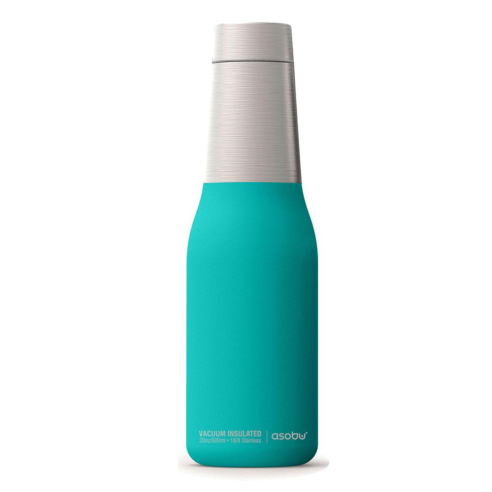 Asobu |不鏽鋼繽紛雙層保溫瓶-土耳其藍
