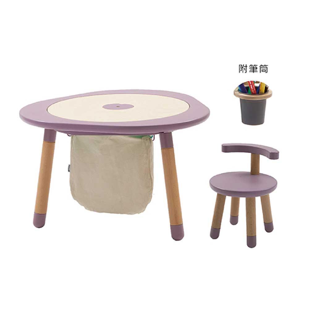 Mukako MUTable 親子魔法成長桌(入門組)- 紫藤粉