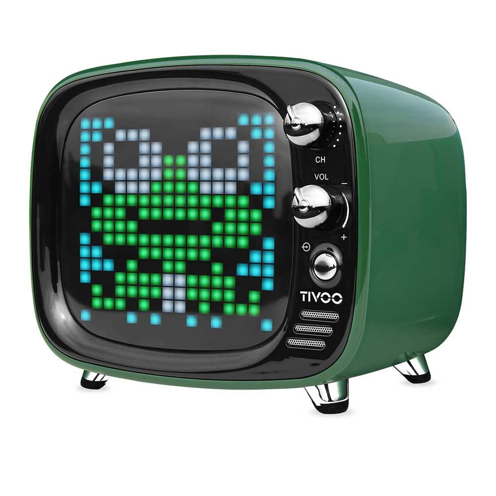 Divoom|Tivoo 智慧復古電視藍牙喇叭 - 英倫綠