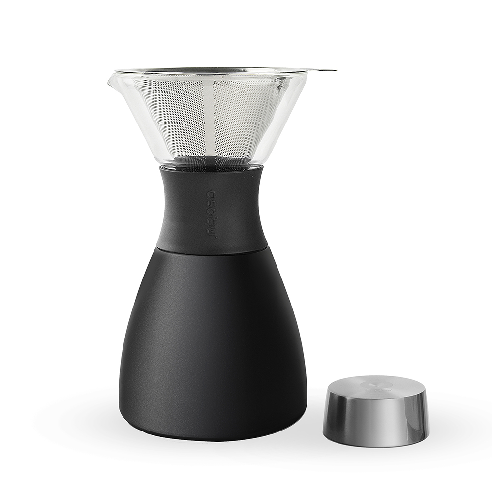 Asobu Pour Over 經典手沖不鏽鋼保溫咖啡濾壺
