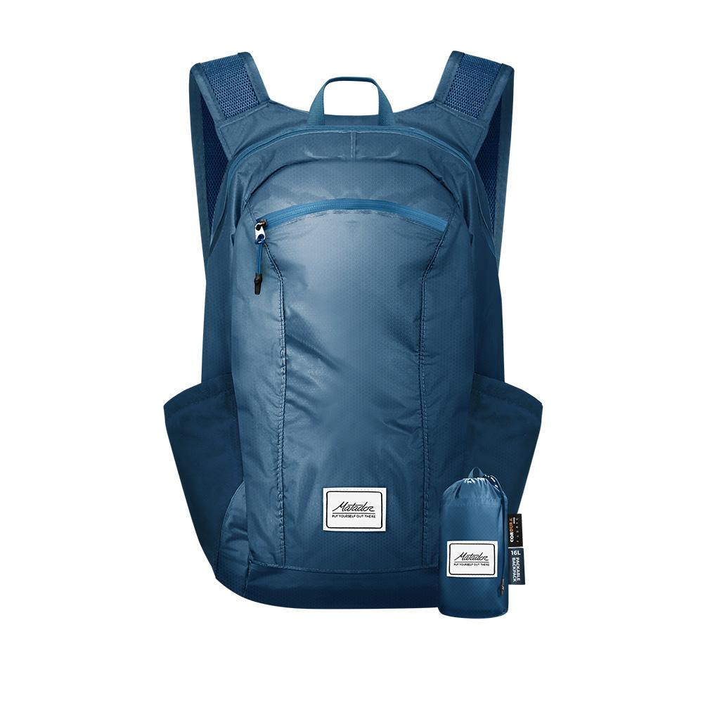 Matador|DL16 Backpack 口袋型防水背包 - 藍色