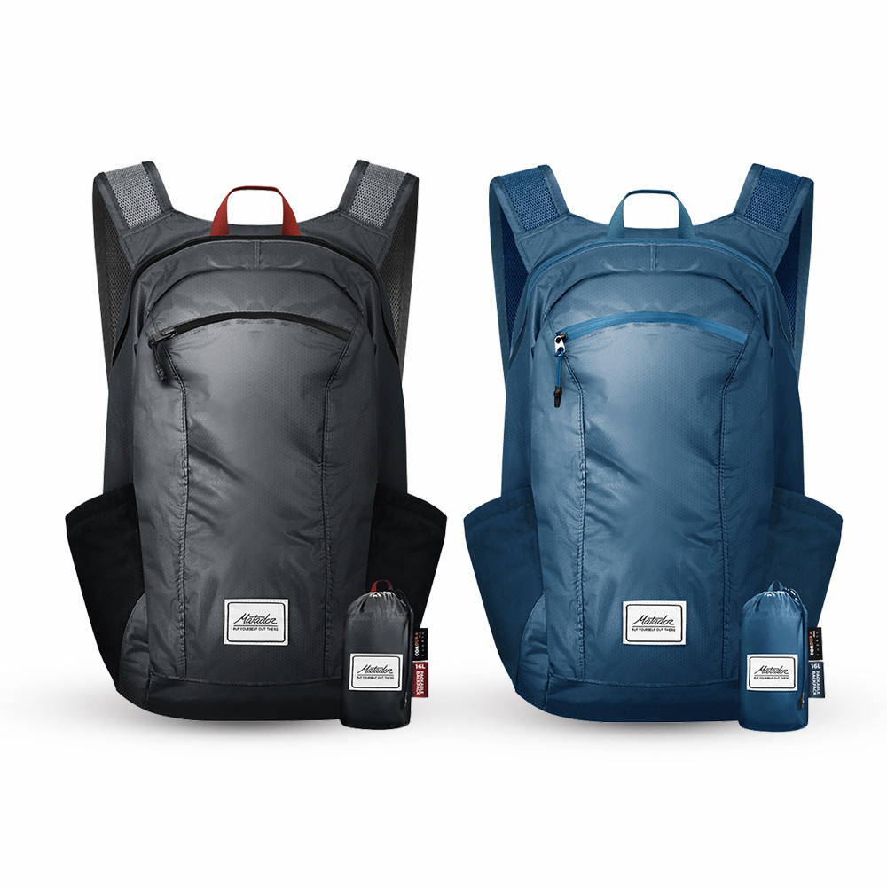 Matador|DL16 Backpack 口袋型防水背包 - 藍色